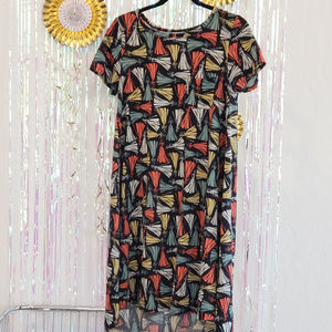 Lularoe Disney Sleeping Beauty Carly XS